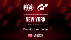 Live Stream: FIA Gran Turismo Championships New York World Tour (Manufacturer Series)