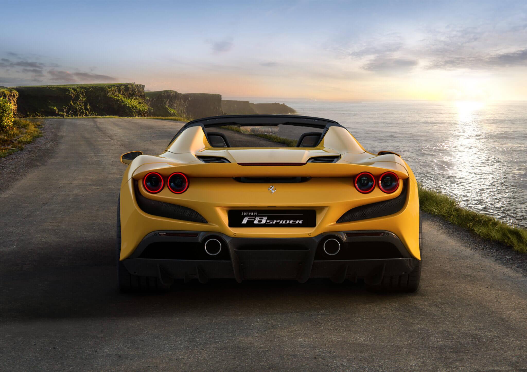 New Ferrari F8 Spider And 812 Gts Promise Italian Drop Top Thrills