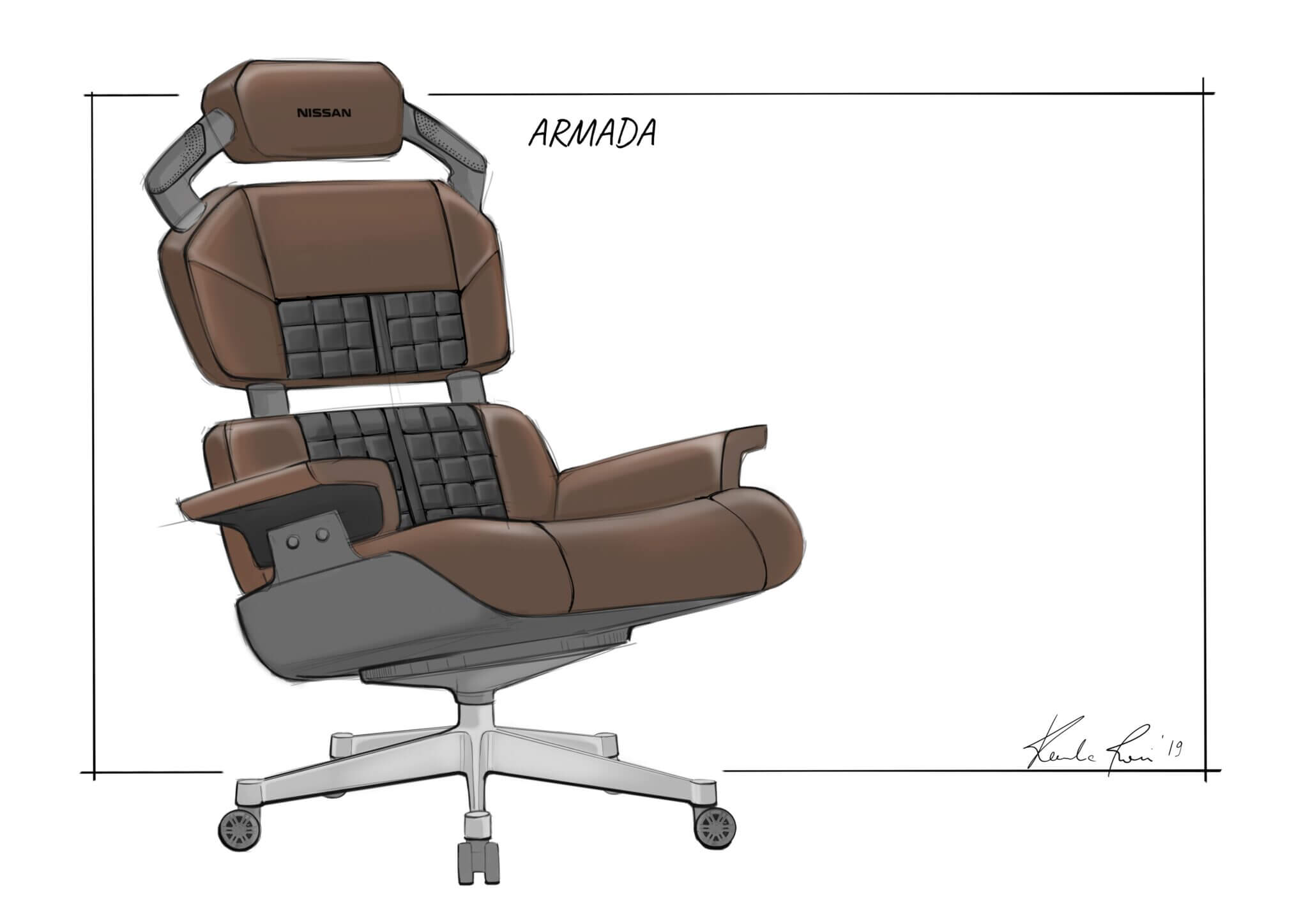 Fine Nissan Creates Gaming Chair Concepts For Nissan Fans Creativecarmelina Interior Chair Design Creativecarmelinacom