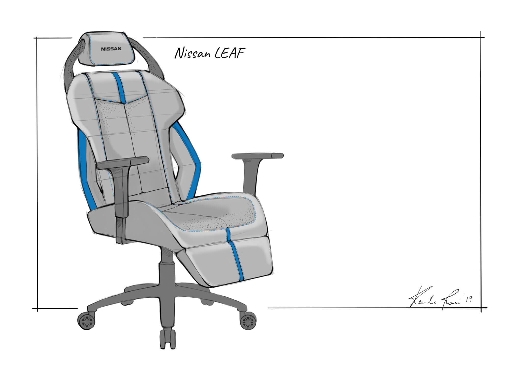 Super Nissan Creates Gaming Chair Concepts For Nissan Fans Creativecarmelina Interior Chair Design Creativecarmelinacom
