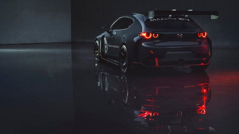 Mazda Reveals 2020 Mazda 3 Tcr Racer