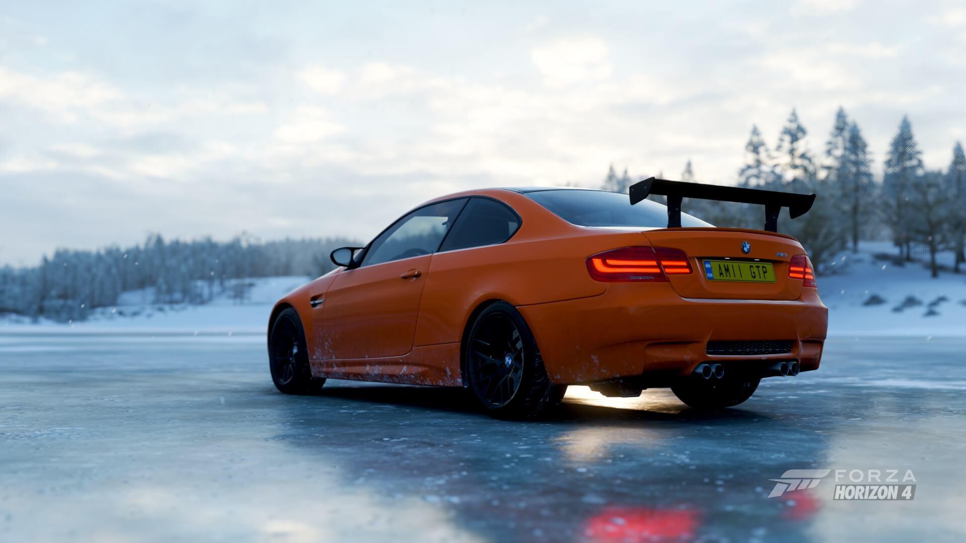 This Week S Forza Horizon 4 Season Change M3 Gts Turns Up The Winter Heat
