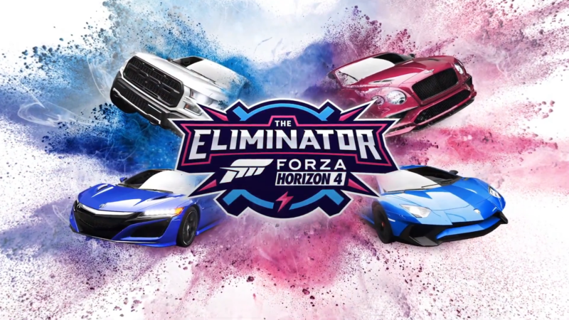 Forza Horizon 4 gets Battle Royale mode called 'The Eliminator'