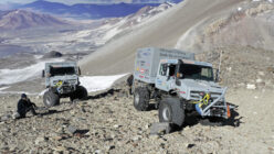Mercedes Unimog Breaks the World Altitude Record for Wheeled Vehicles