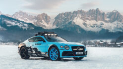 Bentley Builds a 626hp W12-powered Continental GT Ice Race Car