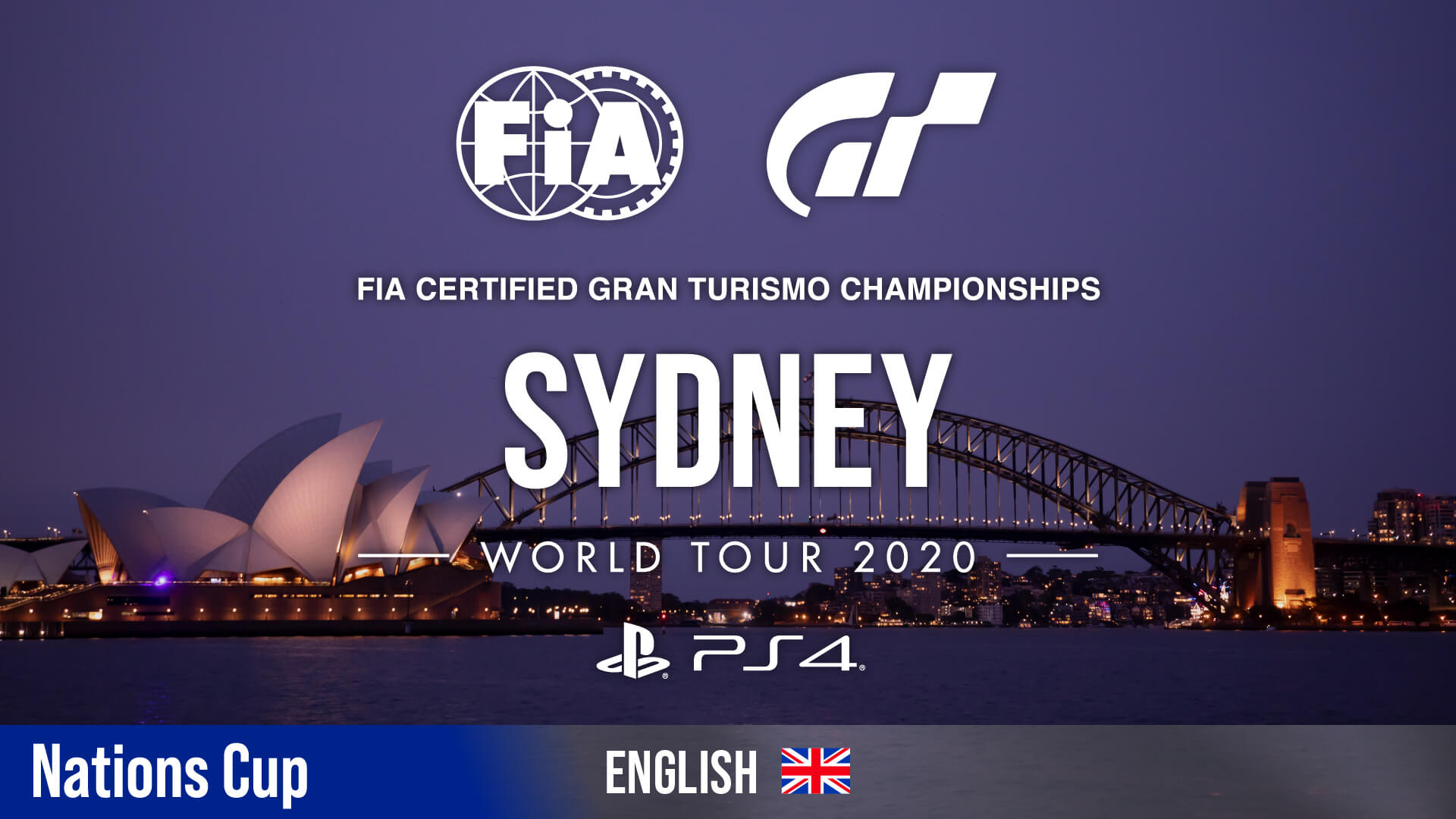 Live Stream: FIA Gran Turismo Championships World Tour Sydney (Nations Cup) - GTPlanet