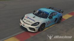 Porsche 718 Cayman GT4 Clubsport MR Coming to iRacing in March