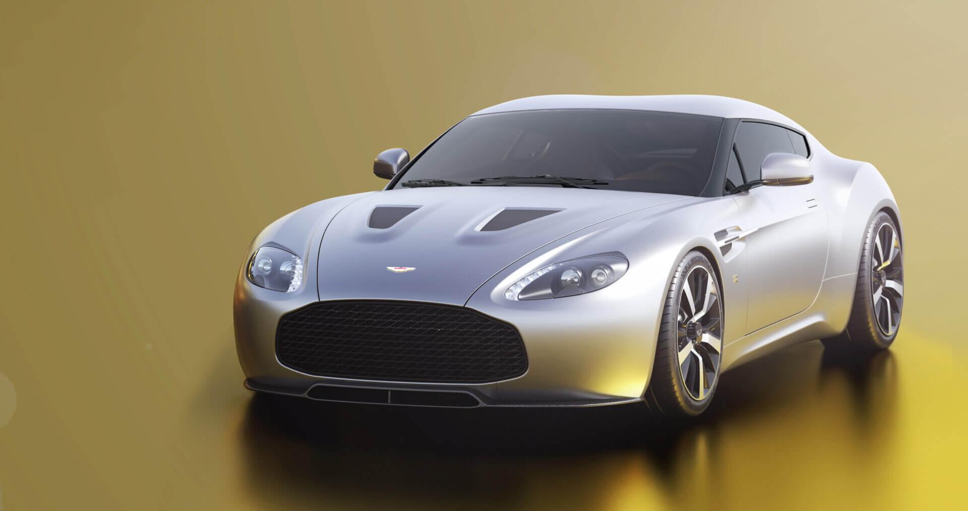 Mugs Cups Dishes Aston Martin V8 Vantage Classic Car Mug Limited Edition Guidohof