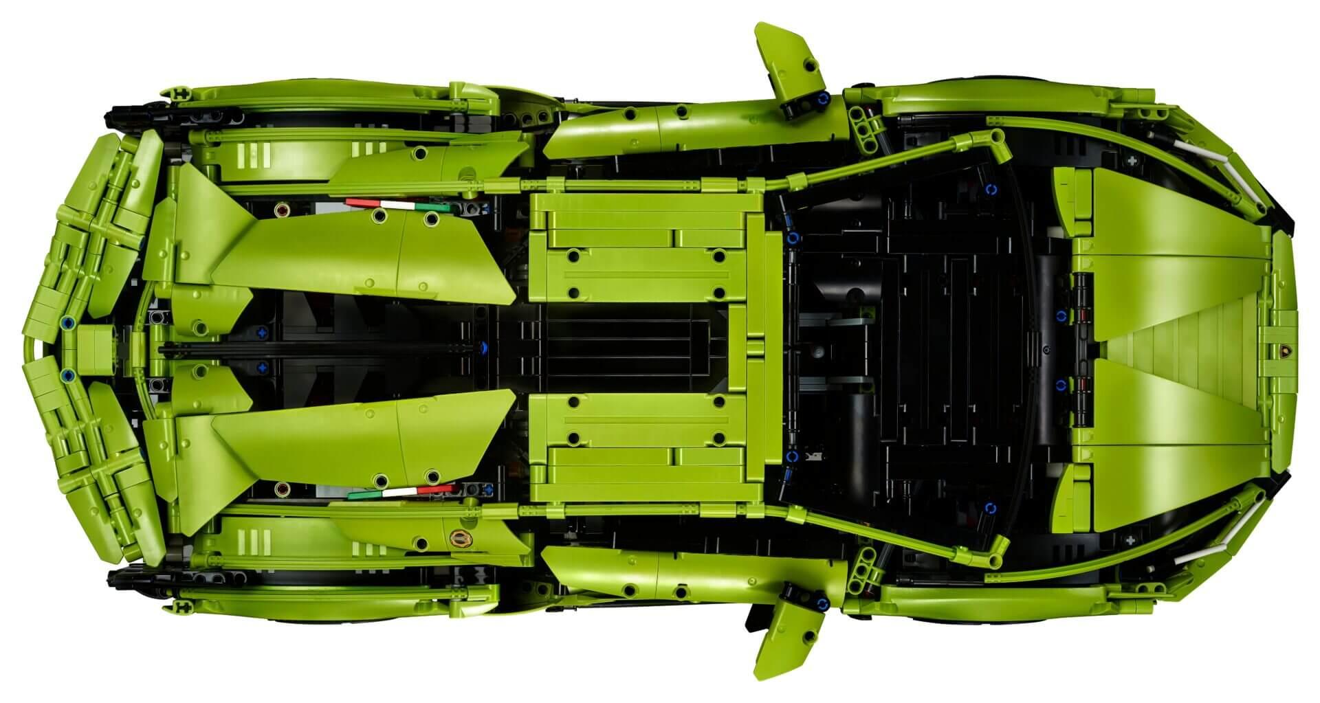 LEGO and Lamborghini Reveal 3,700-piece, $380 Sian Kit