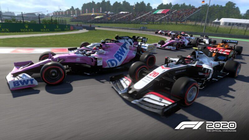 F1_2020_Hungary_Screen_01_4K-800x450 F1 2020 Reveals More Details on Features: F2 Events, Custom UI, Classic F1 Cars