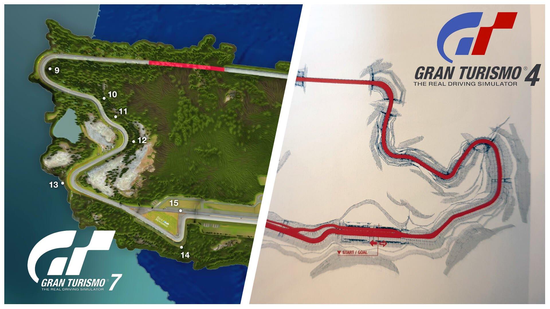 Gran Turismo 7: How Trial Mountain Has Changed thumbnail