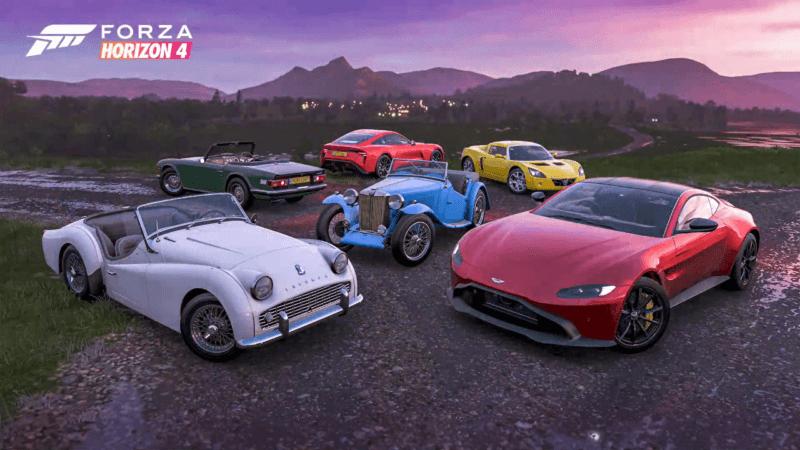 Forza-Horizon-4-British-Car-Pack-800x450 Forza Horizon 4 Series 26 Preview: Britannia Rules The Way