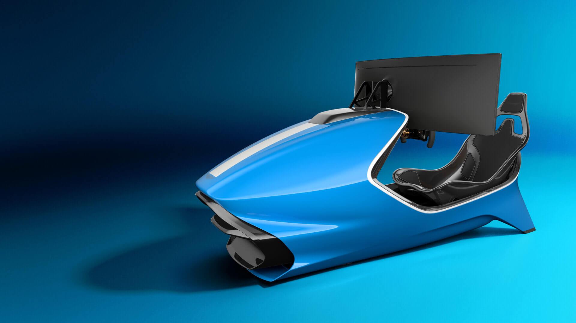 Aston Martin Unveils The 90 000 Amr C01 Racing Simulator