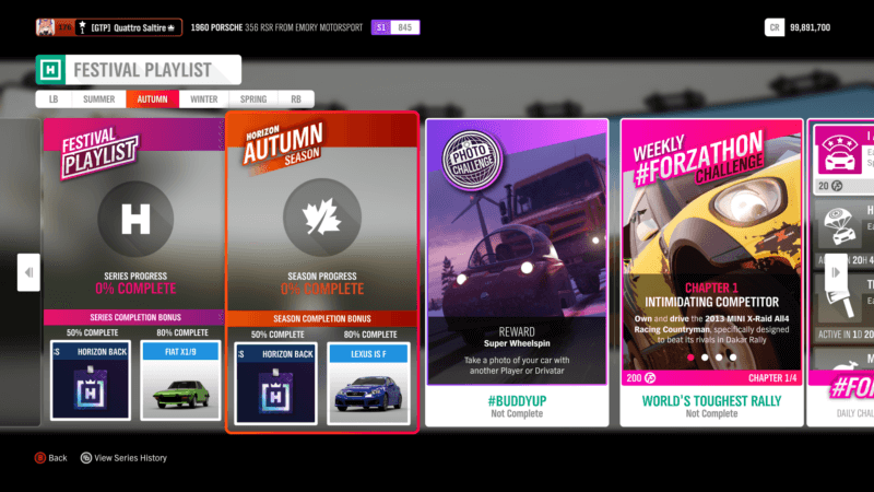 Forza Horizon 4 Season Change: Resting Up For Autumn