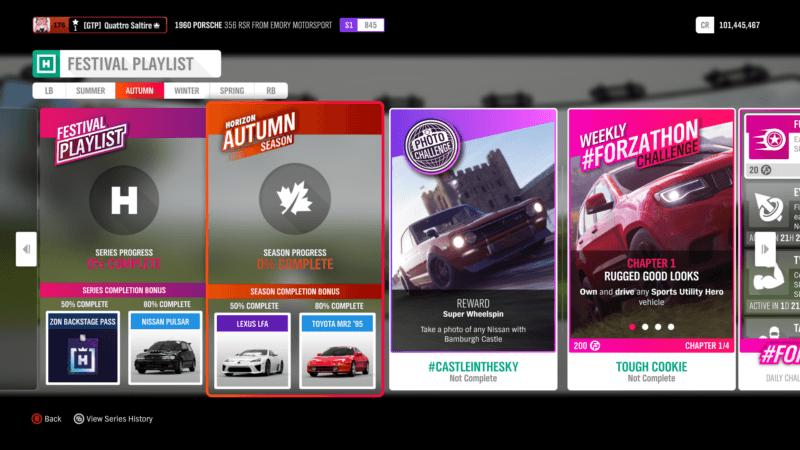 [Forza Horizon 4]Forza Horizon 4 Season Change: Cosmopolitan Autumn