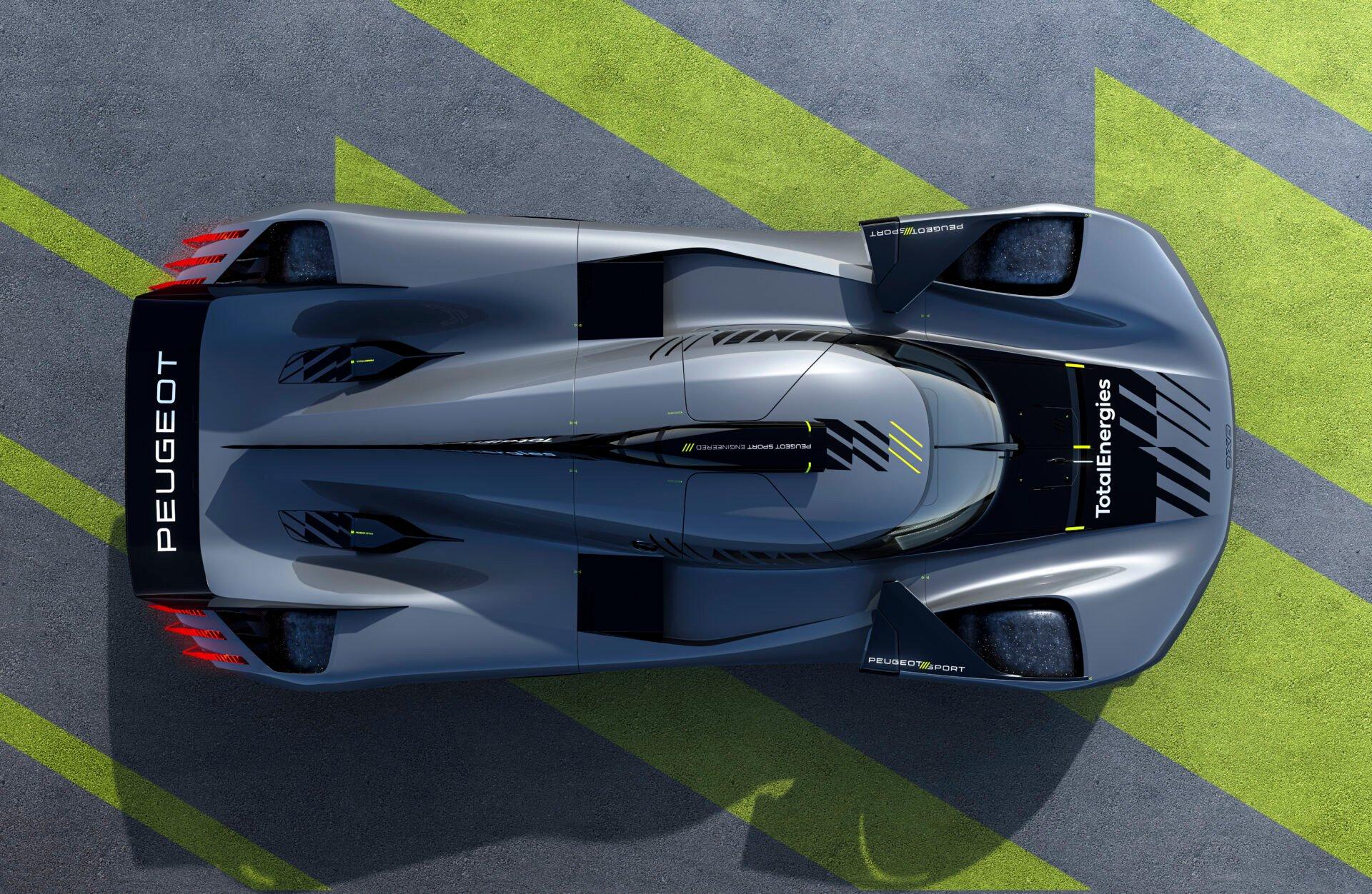 Peugeot 9X8 Hypercar Revealed – GTPlanet