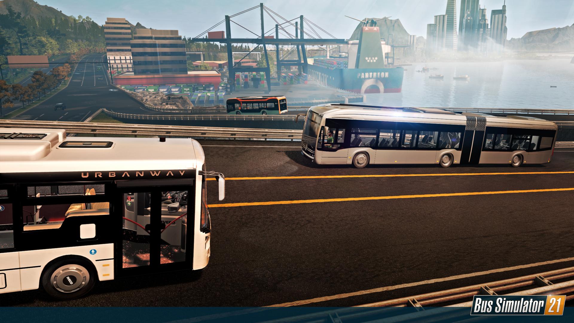 Bus Simulator 21 Reveals Full Vehicle List in New Brands Showcase Trailer